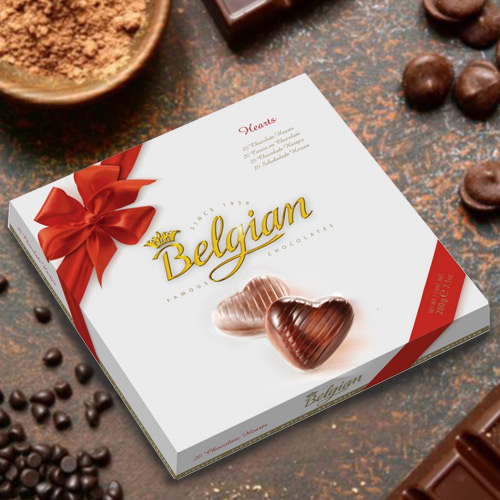 Indulgent Belgian Chocolates