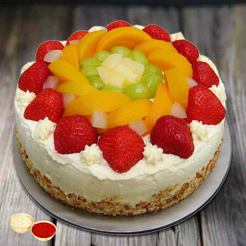 Relaxation's Richness 1 Kg Egg-less Fresh Fruit Cake