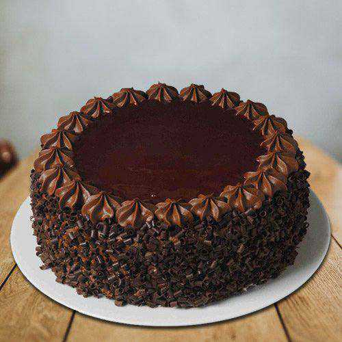 Sumptuous Eggless Chocolate Cake from 3/4 Star Bakery