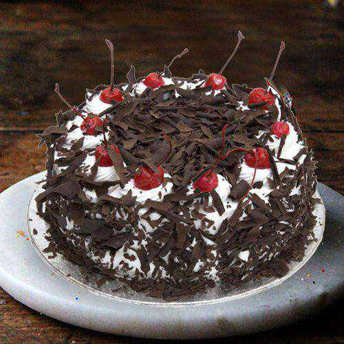 Unforgettable 3/4 Star Bakerys  4.4 Lbs Black Forest Cake