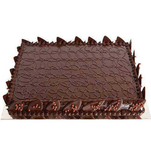 Enticing Choco-Flavored Cake