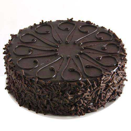 Birthday Party Luscious Eggless Chocolate Cake