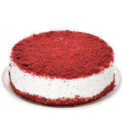Tasty Eggless Red Velvet Cake