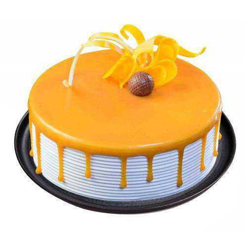 Precisely Designed Eggless Butterscotch Cake