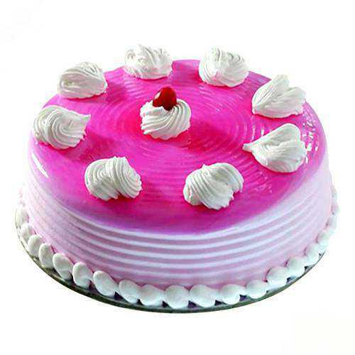 Sumptuous Strawberry Eggless Cake
