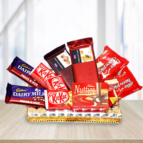 Delicious Chocolate Assortments Gift Hamper