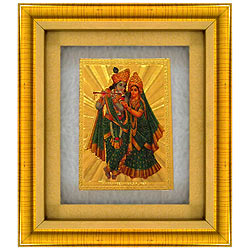 Exclusive Radha Krishna Photo Frame
