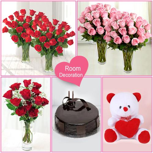 Appealing Room Full Valentines Day Gift Decor