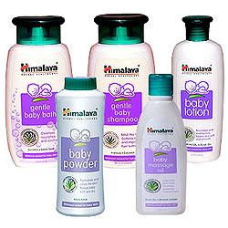 Special Skin Care of Babies with Himalaya Gift Hamper
