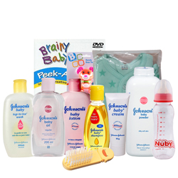 Awesome Johnson Baby Care Gift Hamper