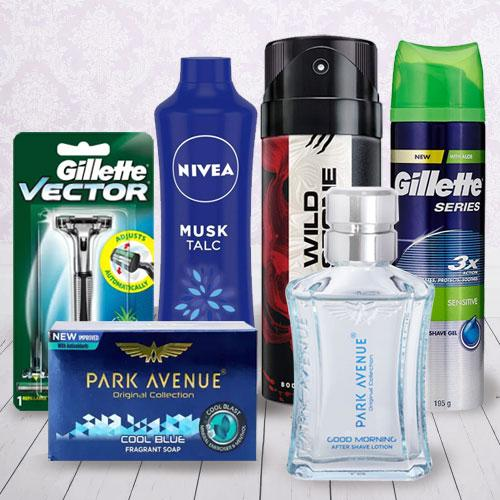 Remarkable Freshen Up Hamper For Men