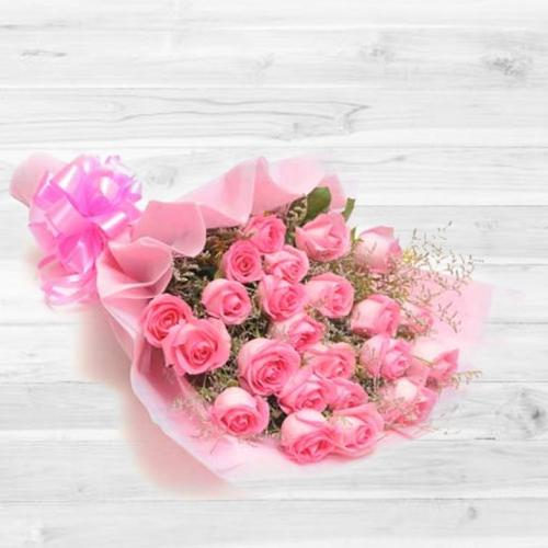 Lovely Pink Rose Bouquet