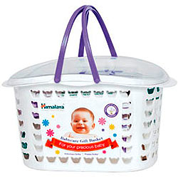 Himalaya's Nestling-the-Newborn Baby Care Gift Basket
