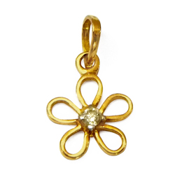 Anjali's Spirited Finery (18K) Diamond Pendant