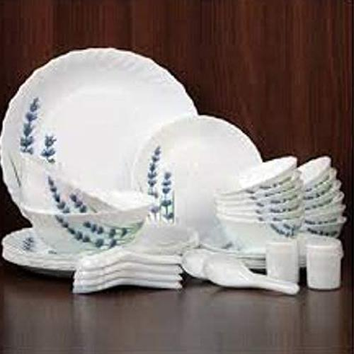 Outstanding LaOpala English Lavender Novo Collection Dinner Set