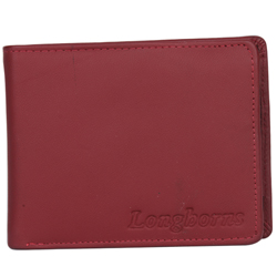 Fancy Brown Coloured Gents Leather Wallet from Longhorn
