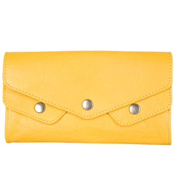 Stunning Yellow Ladies Wallet from Titan Fastrack
