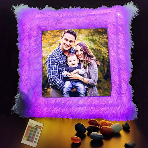 Magical Personalized LED Cushion