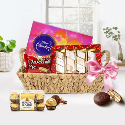 Lip-smacking Assorted Chocolates Gift Basket