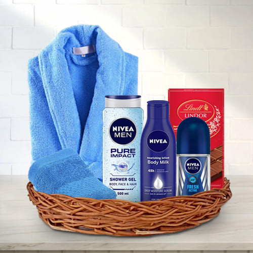 Pleasant Mens Grooming Gift Basket