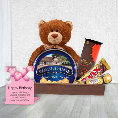 Special Birthday  Celebration Gift Hamper<br>