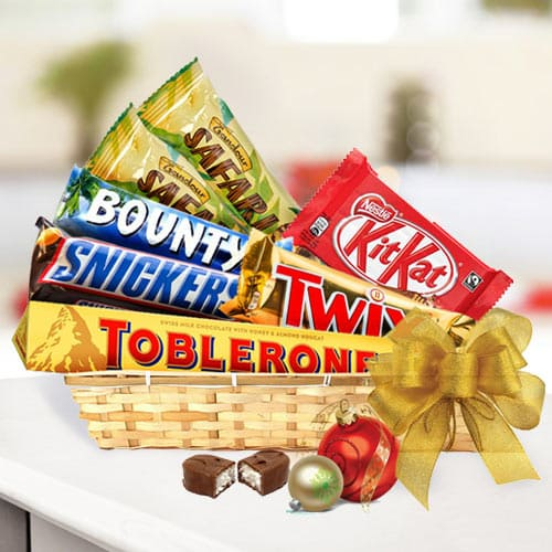 Amazing Gift Basket for Chocolate Lovers<br>