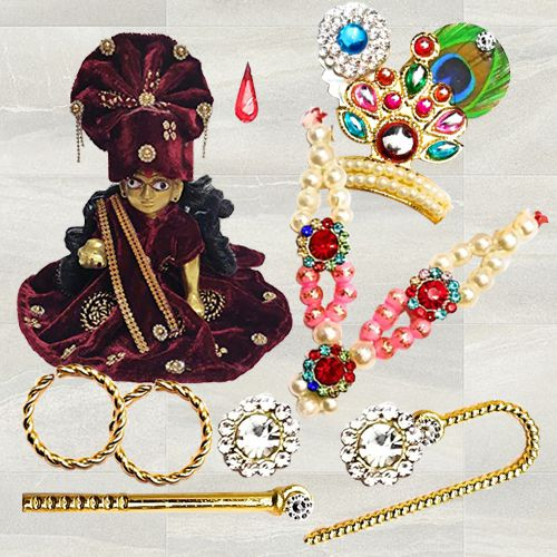 Exclusive Laddu Gopal Accessories Gift Combo