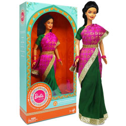 Barbie Doll in India (Visits Madurai Palace)