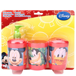 Smart Looking Mickey Mouse Bathroom Set<br>