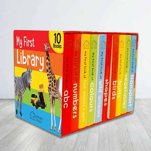 Lovely Books Boxset - My First Library for Kids