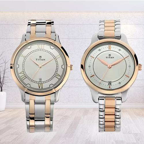 Stunning Titan Analog Watch for Men N Women